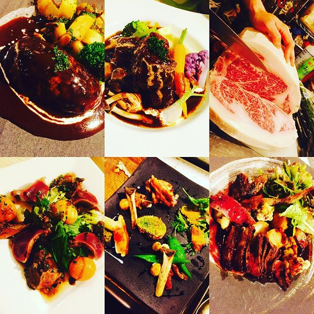 ブラッスリーピガール&六畳間️本日も間もなくオープンでーす️#ハンバーグ #野毛#肉#ワイン#野菜料理 #横浜#ステーキ#和牛#煮込み#モツ煮