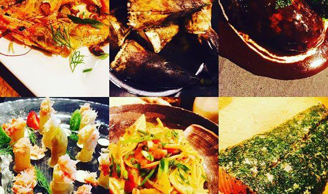 ブラッスリーピガール&六畳間️加賀のタケノコ️サーモンハーブマリネ️和牛ハンバーグ️ホワイトアスパラ️今日も盛り沢山で間も無くオープンでーす️#和牛 #横浜#煮込み #野毛#肉#野菜料理 #和食#ワイン#日本酒