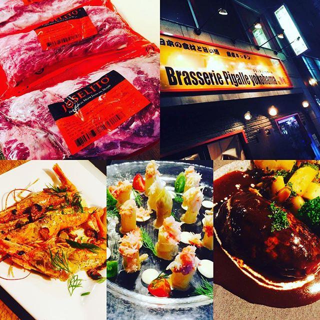 ブラッスリーピガール&六畳間️イベリコ豚ベジョータ入荷️間もなくオープンでーす️#ワイン##野毛#肉#野菜料理 #和食#横浜#