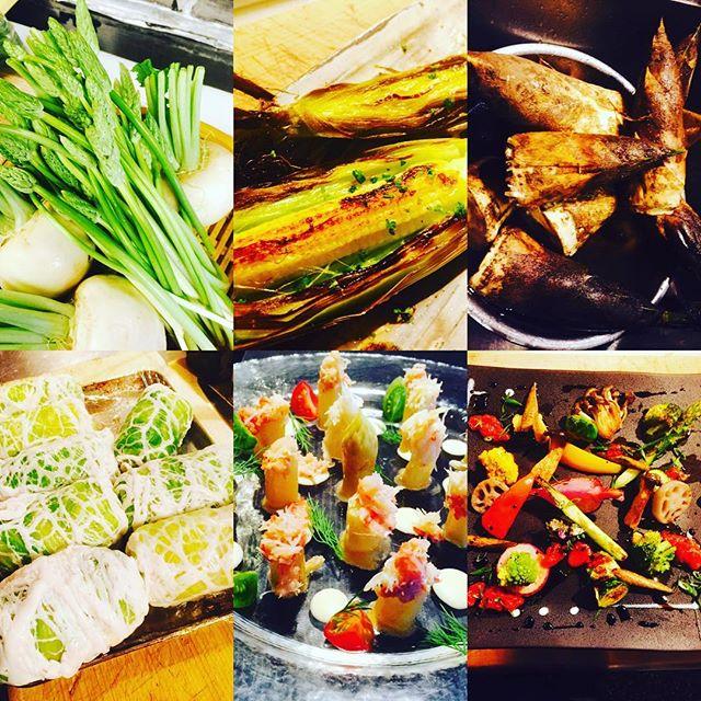 ブラッスリーピガール&六畳間️本日も野菜たっぷりで間もなくオープンでーす️#横浜 #野毛#肉#野菜料理 #ワイン#日本酒#ブラッスリーピガール#日本酒#イベリコ豚