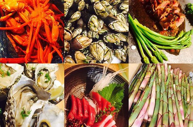 ブラッスリーピガール&六畳間️本日は、ちょっと早めに16時半からゆる〜くオープンしてまーす️^_^5時半までの入店でハッピーアワー️ワインや泡など半額でーす️^_^#フレンチ#横浜#ブラッスリーピガール #日本酒 #イベリコ豚 #野菜料理#ワイン#半額