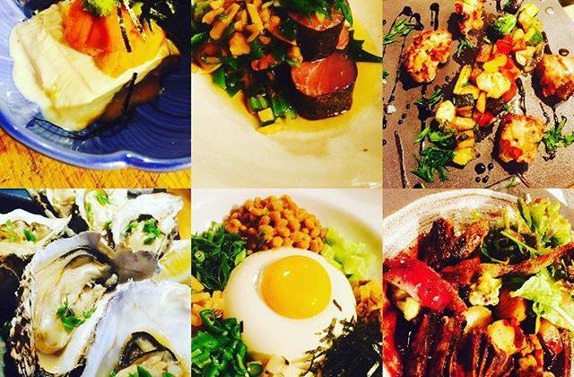 ブラッスリーピガール&六畳間️今日も暑いですね〜️サッパリ&スタミナ料理揃えて、間もなくオープンでーす️^_^#野毛 #和食#横浜#フレンチ#刺身#野菜料理#ワイン#日本酒#湯葉#牡蠣#女子会#ステーキ#肉