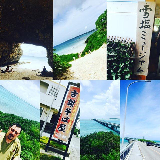 バカンス&食材探しに宮古島やって来ました️台風雨予想でしたが、まさかのお天気で、ラッキーなスタート️まずは島探索からの宮古ソバ️食べまくりまーす️^_^