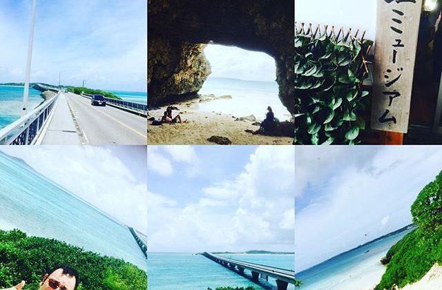 ピガール夏季休暇という事で、バカンス&食材探しに宮古島までやって来ました〜️台風雨予想のはずが、まさかのお天気でラッキーなスタート️^_^まずは島探索からの、とりあえず宮古ソバから食いまくりまーす️#宮古島#宮古そば#沖縄