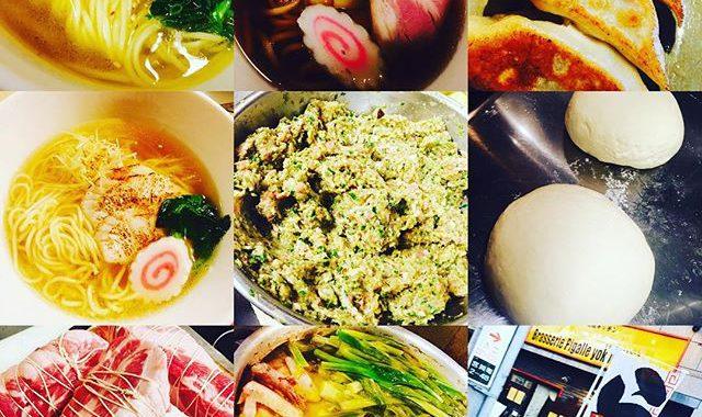 ブラッスリーピガール️いよいよ本日、ピガールランチでーす️12時〜14時半ラストオーダー️ガラ系塩ラーメン️鯛柚子塩ラーメン️アゴ出し正油ラーメン️の三種類&手作り餃子️などなどでーす️