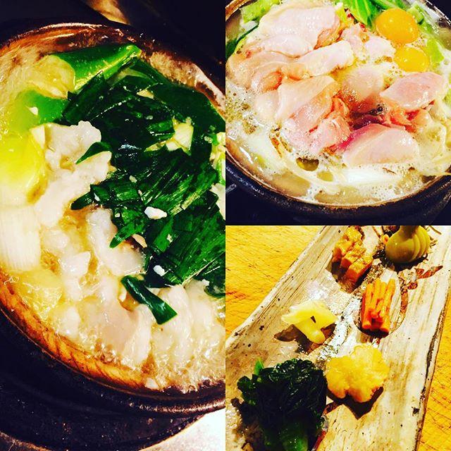 ブラッスリーピガール&六畳間️和牛の塩もつ鍋️博多水炊き️美味しいお漬物ご用意してまーす️間もなくオープンでーす️^_^