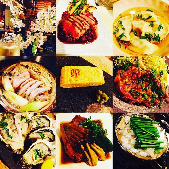 ブラッスリーピガール&六畳間️本日も間もなくオープンでーす️^_^#フレンチ#福島#ブラッスリーピガール#女子会#日本酒#春野菜#花見#和食#パスタ