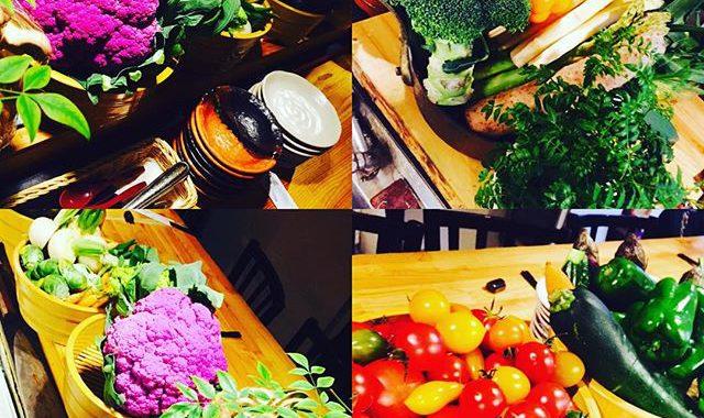 ブラッスリーピガール&六畳間️本日も沢山の野菜でお迎えして間もなくオープンでーす️#和食#パスタ#野菜料理 #フレンチ#ワイン#女子会#横浜#野毛