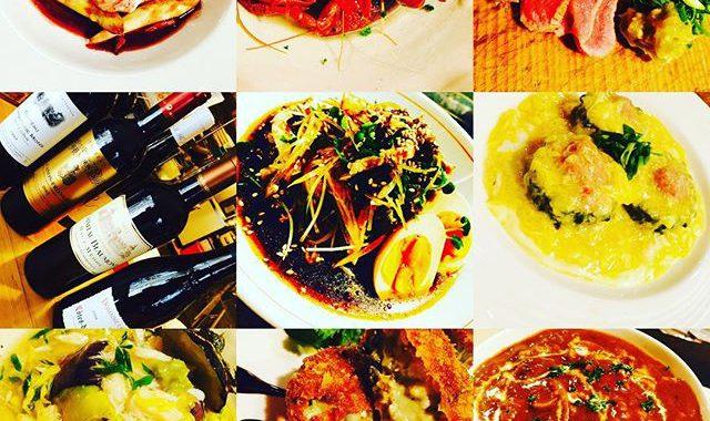 ブラッスリーピガール&六畳間️いろいろワイン購入️ザリガニ君️ゴーヤは肉詰め️牡蠣のクリームコロッケ️仔牛タンの炙り️などなど盛り沢山でオープンでーす️#日の出#野毛#横浜#ワイン#フレンチ#ザリガニ
