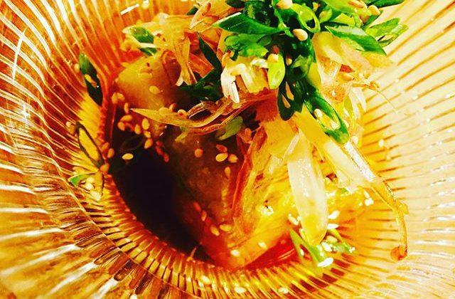 ブラッスリーピガール&六畳間️暑すぎる〜️️️ので、冷やし焼き茄子️間もなくオープンでーす️