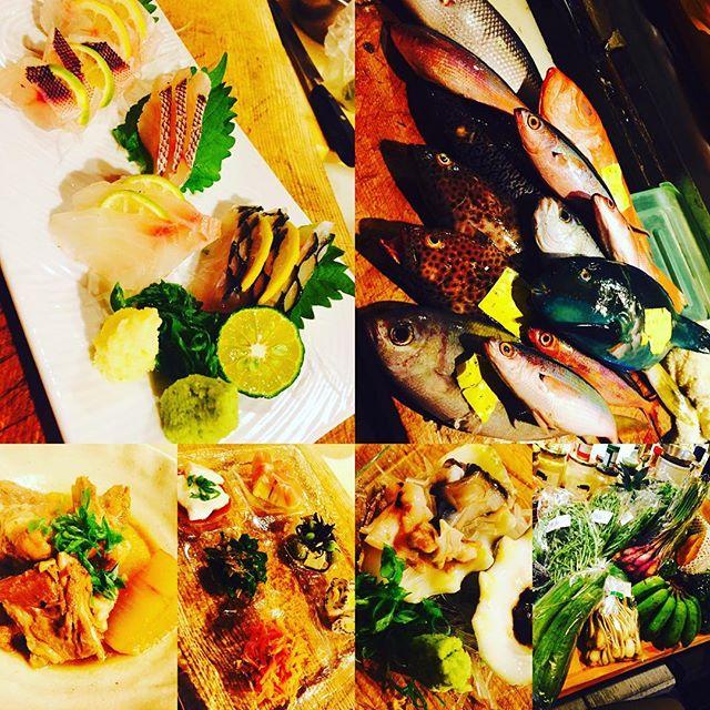 ブラッスリーピガール&六畳間️本日も沖縄食材たっぷりで、間もなくオープンでーす️