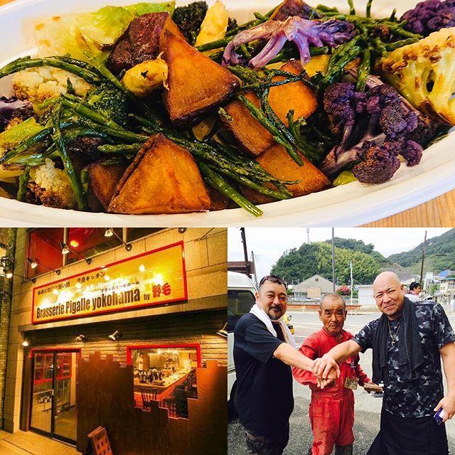 料理リレー️料理家たちが料理を次々に紹介していくという#料理リレーロサンゼルスのカリフォルニア料理研究家寺西紀香さんから石島シェフにバトンが渡り光栄にも石島シェフよりバトン頂きました!ありがとうございます!ブラッスリーピガール横浜の井上と申します!よろしくお願い申し上げます。さてどんな料理を紹介したらいいもんかと、考え思いついたのが、今皆様自粛生活の中、冷蔵庫に余った食材もあるかと思います。そこで主に野菜を使ったお料理をご紹介します!野菜のソテーグランメール!グランメールとはフランス語でおばあちゃんという意味です。当店でもお肉や魚料理の付け合わせや、野菜メインの料理も沢山提供しています!(材料)ハムやベーコン、ソーセージなど冷蔵庫の野菜たち玉ねぎ、にんじん、ジャガイモ、ニンニク、ブロッコリー、アスパラ、きのこ類あればハーブ類その他何でもok作り方1.それぞれの野菜を同じ位の大きさにカットしておく。2.火の入りにくい野菜は油通し又はボイルしておく。3.熱したオリーブ油に潰したニンニクを香りを出し、やや厚めにカットしたベーコンをソテー、カットした野菜を加えて中火で、ゆっくりソテーしていく。途中ハーブなど加えて香りをつけ、少々の白ワインとバターを加えて塩コショーで味を整えて出来上がり️ps.しっとり仕上がった方が美味しいので、ソテーしてる時少量のお水をたして調整して下さい^ ^ 《料理家 脇雅世先生からのメッセージです》世界中が危機感であふれている毎日です。今週末は外出自粛という事でおうちで過ごす時間が長くなりました。こんな時に皆さんと料理でつながることができたらと思い「料理リレー」を試みたいと思います。いつもお家にある材料で簡単に作れる一品を紹介します。わざわざ買い物に出なくても済む、料理作りのヒントになれば幸いです。次の料理家の友人2人に思いを込めてバトンをつなぎます。料理を生業とする私達から、ご覧いただいた皆さんがハッピーになることを願って。バトン井上〜日頃お世話になってる横浜のレストランラタトィユの恩田シェフと東日本大震災や西日本災害など共に炊き出しなどのボランティアをして来た野毛ミラクル商会の納谷さんにバトンをお渡しします。宜しくお願い致します。#ブラッスリーピガール #うちで過ごそう#stayhome#料理リレー#cookingrelay#脇雅世#加藤巴里#脇雅世加藤巴里関澤真紀子今井亮玉利紗綾香伯母直美綱渕礼子青山清美サリバンよしこ伊藤史恵てらにしのりか石島邦彦井上憲治